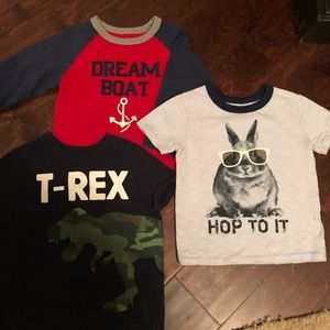 Other - Bundle of boys 24 month tees from gap